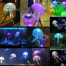 Beauty Fluorescent Glowing Effect Jellyfish Aquarium Ornament Swim Pool Decor