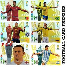 Panini Adrenalyn XL World Cup Brazil 2014 TOP MASTER  Cards- Brand New