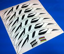 *2013* Style 808 1080 DISC Decals Stickers for zipp wheels white / firecrest