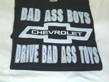 BAD ASS BOYS  CHEVROLET  T-shirt Funny New All Sizes