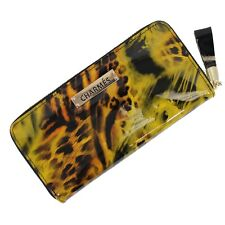 NEW LATEST TREND FASHIONABLE Lady WALLET in GENUINE real Leather CHARMES 8x1.5x4