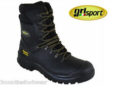 SAFETY COMBAT BOOTS - GRISPORT - SIZE 6 7 8 9 10 11 12  STEEL TOE CAP WORK BOOTS
