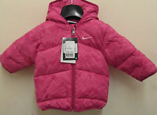 Nike Baby Infant Puffa Padded Jacket Velocity Pink Coat 3-6 6-9 mos
