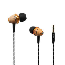 Awei Q5 Wooden Super Bass Headphones Headset Earphones Earbuds for iPhone/MP3/PC
