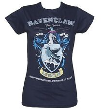 Official Ladies Navy Harry Potter Ravenclaw Team Quidditch T-Shirt