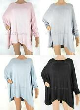 NEW Italian OVERSIZED Lagenlook Boho Batwing TUNIC Top