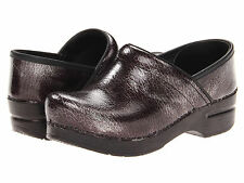 Women's Dansko Professional Grey Textured Clogs Casual Shoes 506240202 Sz 37-41