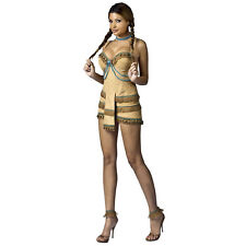 Sexy Native American Indian Pocahontas Adult Costume Dress Womens S M L