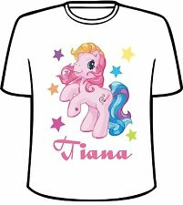 Many Tee Colors-Personalized My Little Pony T-Shirt