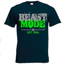 "Seattle Seahawks/Marshawn Lynch ""Beast Mode"" Limited Edition T-Shirt"