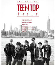 TEENTOP [EXITO] Missing Vol.5 : CD+Photocard+Poster+Git Photo,New,TEEN TOP