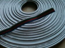 20 AWG Cable,Wire,Lead RGB Colour LED Strip White/RED/Green/Blue Extension1m UK