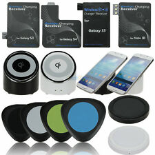 Qi Wireless Charger Charging Pad for Samsung Galaxy S5 S4 S3 Note3 +Receiver Kit
