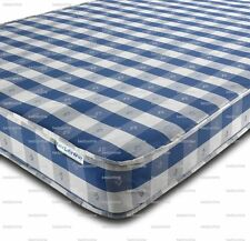 BUDGET MATTRESS CHEQUERED ALL SIZES FREE DELIVERY