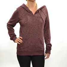 Volcom Women's Lived In Sherpa Lined Hoodie - AW14: Cabernat
