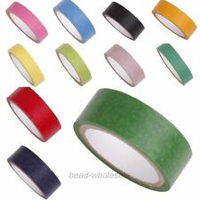 5M/1Roll Pure Color Wide Paper Craft  Japanese Washi Tape DIY Carft Decor 15mm