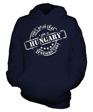 MADE IN HUNGARY UNISEX ADULT HOODIE MENS WOMENS LADIES FUNNY BRAND NEW