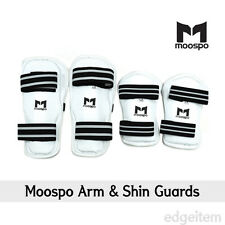 Moospo Arm & Shin Guards Taekwondo Arm and Leg protector Karate