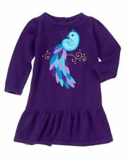 NEW Gymboree Winter Peacock Girls 12 18 24mo 2T 3T 4T 5T Peacock Sweater Dress