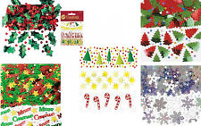 Christmas Table Confetti Xmas Party Snowflakes Tree Holly Decorations Sprinkles