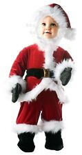 Santa Claus Red Christmas Holiday Card Jumper Costume Baby Child Toddler
