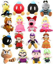 Fox Luigi Wario Koopa BOMB Stuffed Soft Plush Super Mario Toy Dol Baby Kid Gift❤