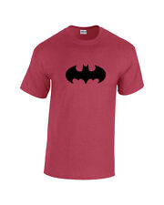 Batman Fledermaus Heavy Cotton T-Shirt Herren Robin Tv Movie Joker Comic