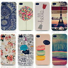 Hot Fashion Pattern Hard Skin Case Cover Back Protector Fits For iPhone 5 5s