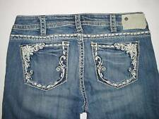 Silver Jeans TUESDAY Mid-Straight Mid-Rise Slim Hip Straight Fit L32  140914A