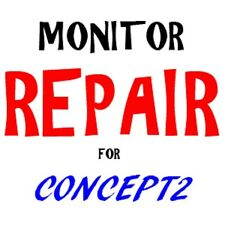 repair concept 2 pm1 pm2 pm3 pm4 rowing rower monitor fix service
