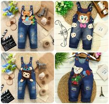 1pc Baby toddler boys girls Kids jeans rompers baby bottoms boys girls pants