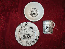 EPOCH LE RESTAURANT FRENCH LE GASTONES CHEF COOK WAITER PLATE CUP OR BOWL DISHES