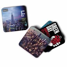 Personalised Custom Printed Square Drink Coaster Logo's, Pets, Messages, Images