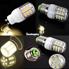 3W 200V~240V Bulb Lamp 60 LED Corn Light Warm White E27 SMD3528 G10 SMD5050