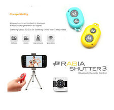 2014 NEW Wireless Bluetooth Self-timer Shutter Remote Control For Smartphone Tab