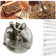 Leather Working Saddle Making Tools Leather Craft Stamps Set