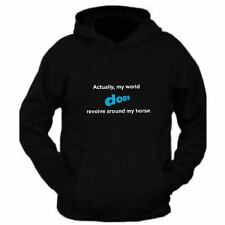 Slogan Horse Hoodie Top for Adults Unisex Equestrian wear Rider clothing