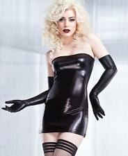 Brand New Wetlook Tube Dress - D948