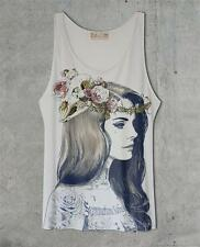 Lana Del Rey White OR Gray Tank Top Shirt