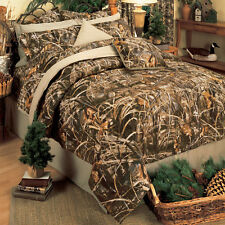 Realtree Max 4 Camo Comforter Set- Bed in a Bag - Camouflage Bedding