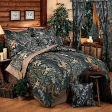 Mossy Oak New Break Up Camo Comforter Set- Bed in a Bag - Camouflage Bedding