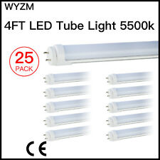 """48"""" 18W 4Ft 6500K Cold White LED T8 Fluorescent Replacement Tube Light G13 Base"""