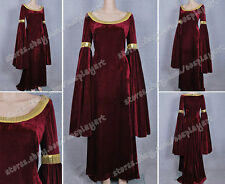 The Lord of the Rings Arwen Long Dress Red Cosplay Wonderful For Party Costume