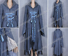 The Lord of the Rings Cosplay Costume Arwen Coat Grey Dress Made of high quality