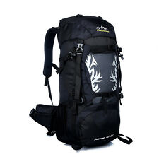 Waterproof 50L Outdoor Sports Camping Travel Hiking Rucksack Bag Large Backpack