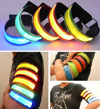 ❤CHEAP❤ Sporting Goods Flash LED Light Armband Arm Belt Armlet Large-Scale Party