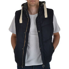 Debenhams Mens Quilted Padded Hooded Body Warmer Gilet Sleeveless Coat Jacket