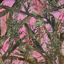 Discount Fabric True Timber 4 way Stretch Brushed MC2 Pink Camouflage  CA06