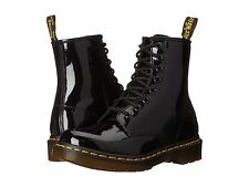 Dr. Martens  Women's 1460 W Black Patent Leather Ankle Boots ALL SIZES!!!