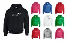 The evolution of BMX, Printed Hoodie
